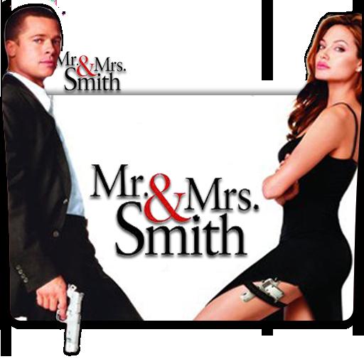 Mr Mrs Smith 2005 Folder Icon By Deoxsis On Deviantart