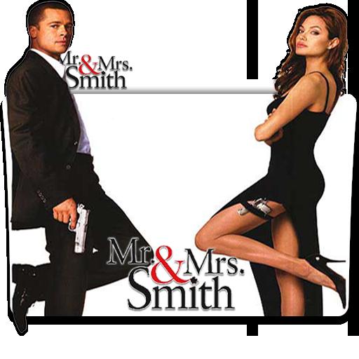 Mr Mrs Smith 2005 V1 Folder Icon By Deoxsis On Deviantart