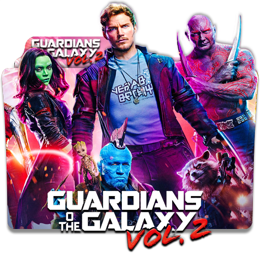 Guardian Of The Galaxy Vol2 2017v1 Folder Icon By Deoxsis On
