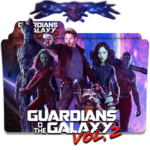 Guardian Of The Galaxy Vol 2 2017 V2 Folder Icon By Deoxsis On Deviantart