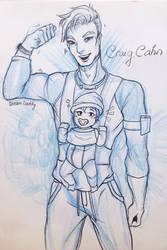 Dream Daddy- Dad Dating Simulator- Craig Cahn by crossyourmine