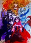 RWBY Team- Volume 5