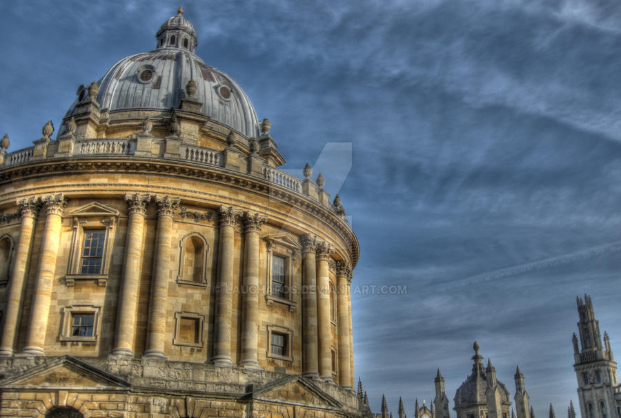 Oxford Skyline I by lauchapos