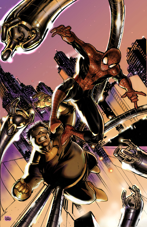 SPIDERMAN 2 jim lee stlye by EightONEzERO