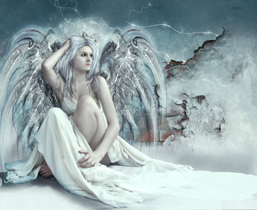 Sexy white angel