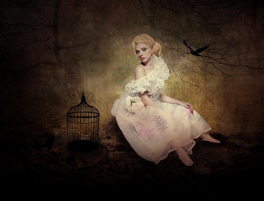 romantic lady... by iwetka