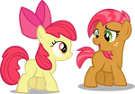 Apple Bloom and Babs Seed