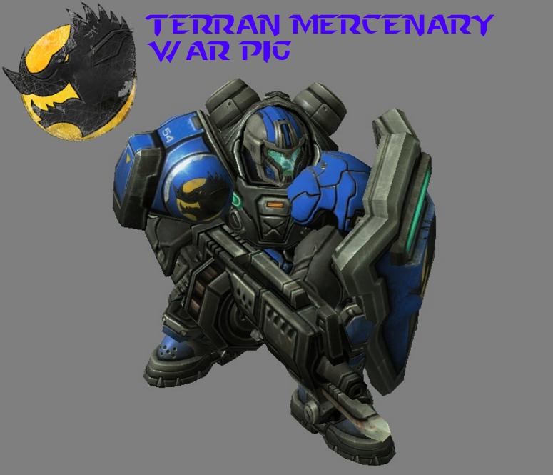 StarCraft 2 - War Pig Marine Mercenary (HD) by HammerTheTank on DeviantArt