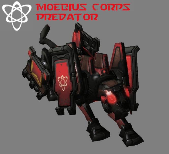 Moebius Corps - Predator by HammerTheTank