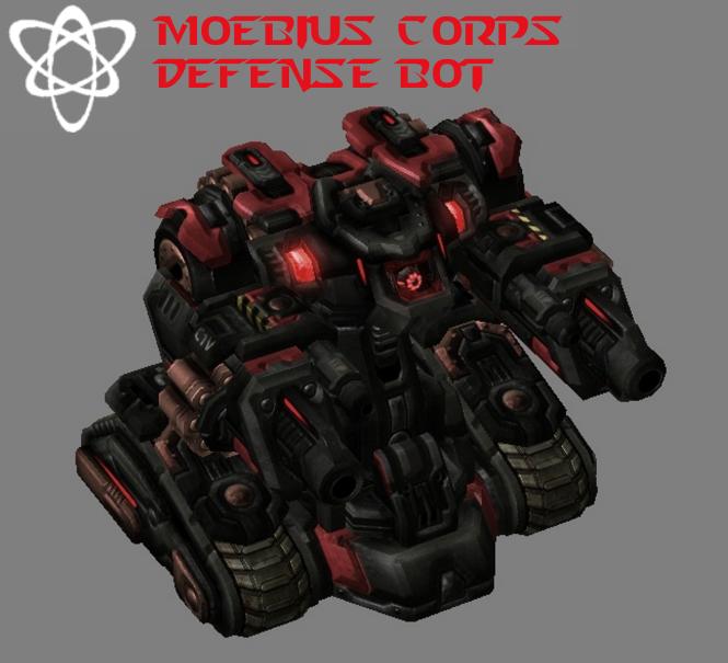 Moebius Corps - Defense Bot by HammerTheTank