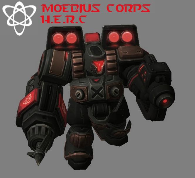 Moebius Corps - HERC (Second Version) by HammerTheTank