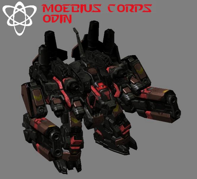 Moebius Corps - Odin by HammerTheTank