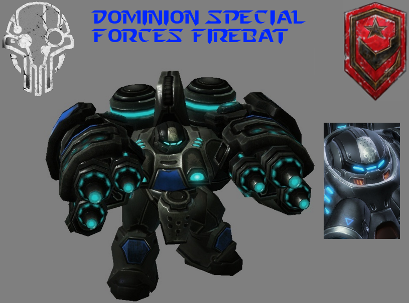StarCraft 2 - Dominion Special Forces Firebat by HammerTheTank