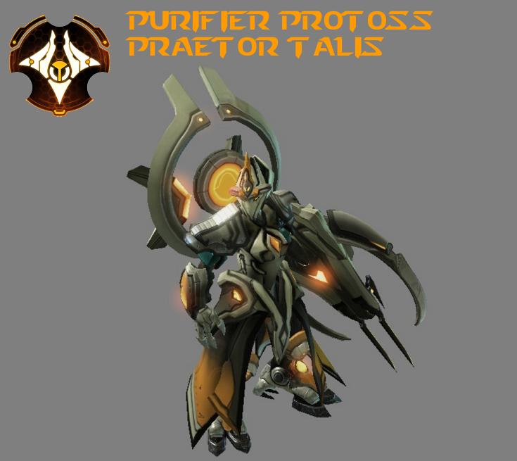 StarCraft 2 - Purifier Protoss Praetor Talis (V2) by HammerTheTank