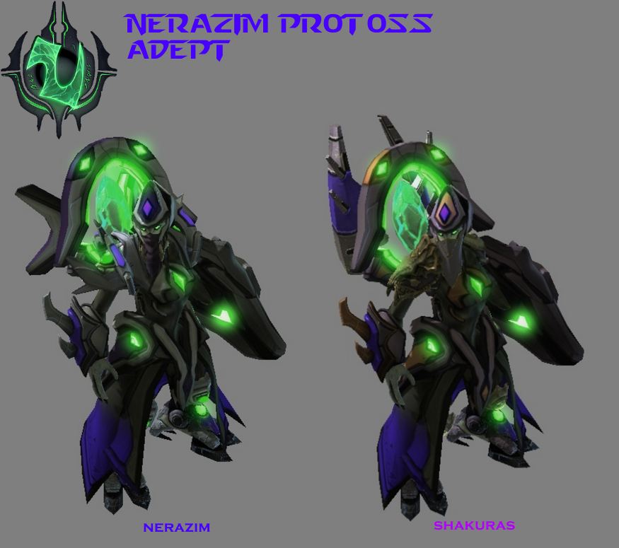 StarCraft 2 - Nerazim Protoss Adept by HammerTheTank
