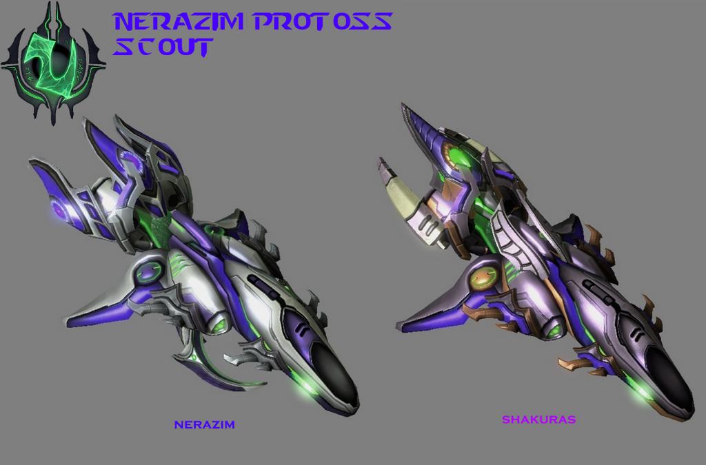 StarCraft 2 - Nerazim Protoss Scout by HammerTheTank