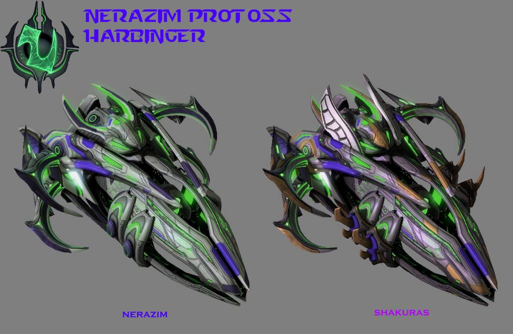 StarCraft 2 - Nerazim Protoss Harbinger by HammerTheTank