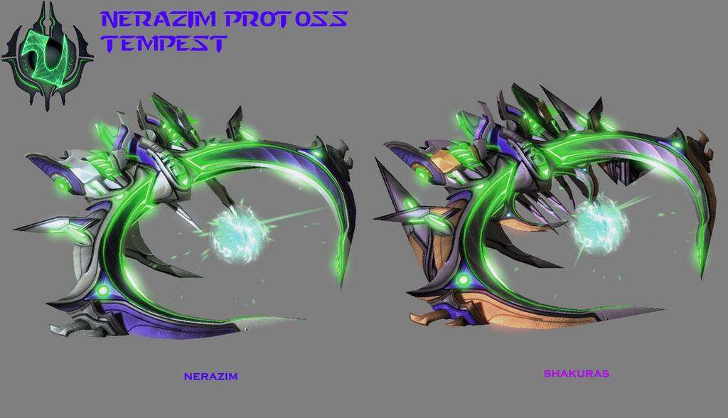StarCraft 2 - Nerazim Protoss Tempest by HammerTheTank