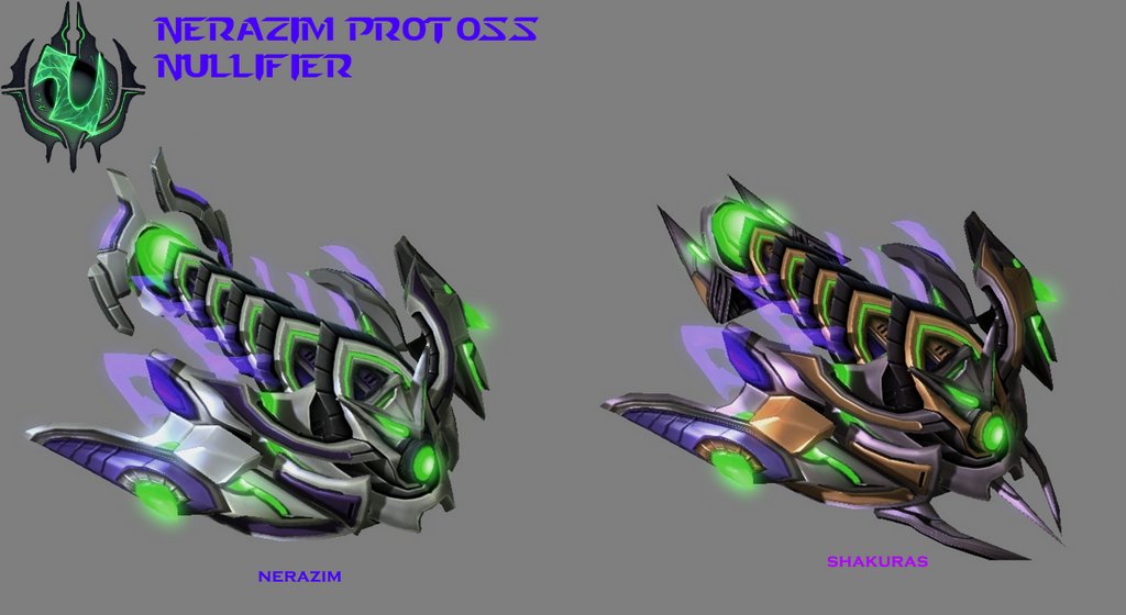 StarCraft 2 - Nerazim Protoss Nullifier by HammerTheTank