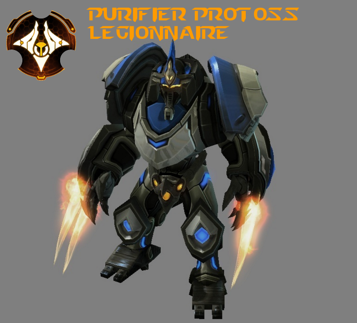 StarCraft 2 - Purifier Protoss Legionnaire (HD) by HammerTheTank
