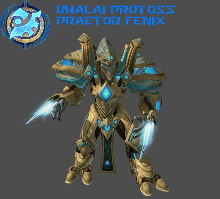 StarCraft 1 - Khalai Protoss Praetor Fenix by HammerTheTank