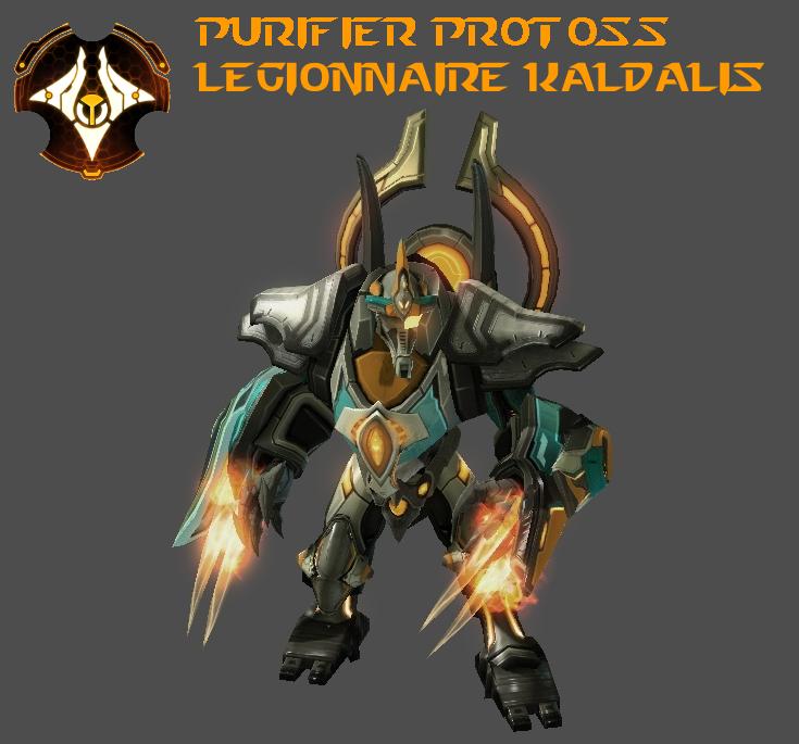 StarCraft 2 - Purifier Legionnaire Kaldalis (V2) by HammerTheTank