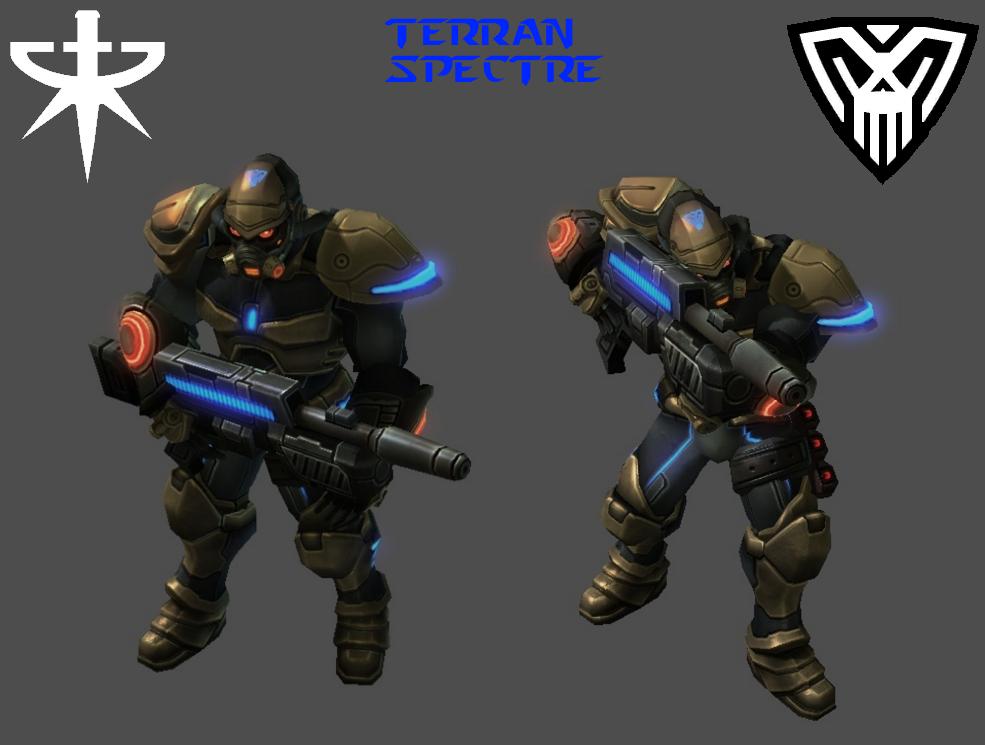 StarCraft 2 - Terran Spectre (HD) by HammerTheTank