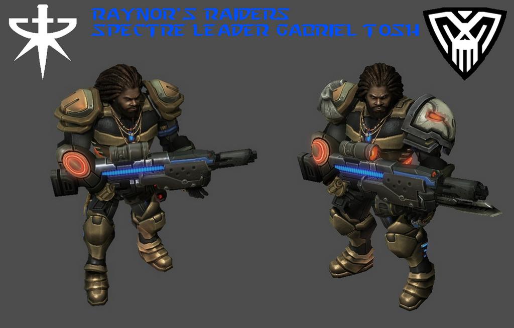 StarCraft 2 - Spectre Leader Gabriel Tosh (HD) by HammerTheTank