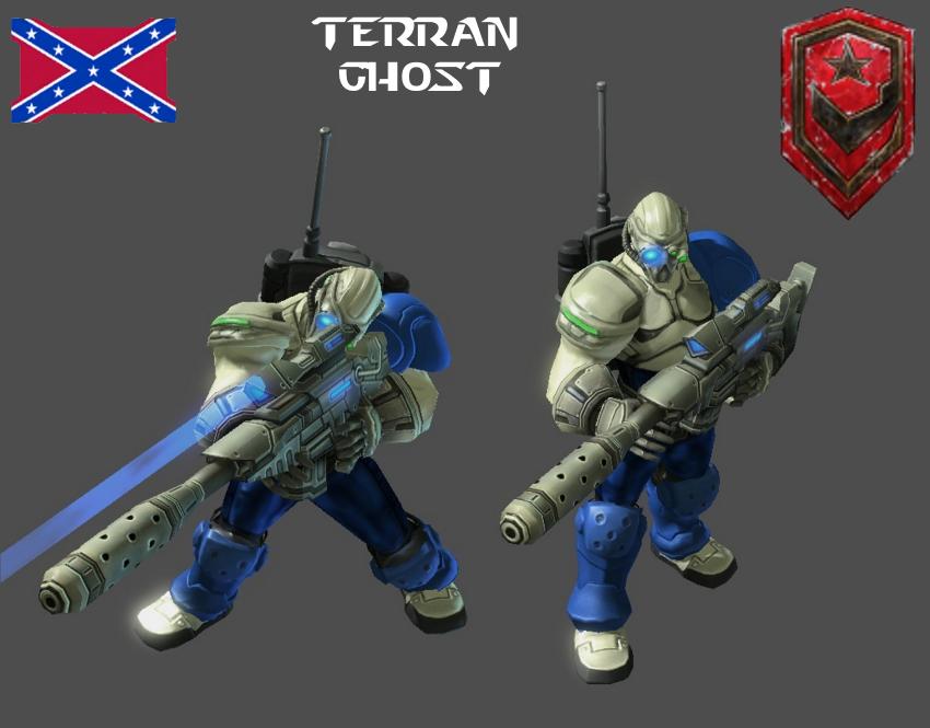 StarCraft 1 - Terran Ghost by HammerTheTank