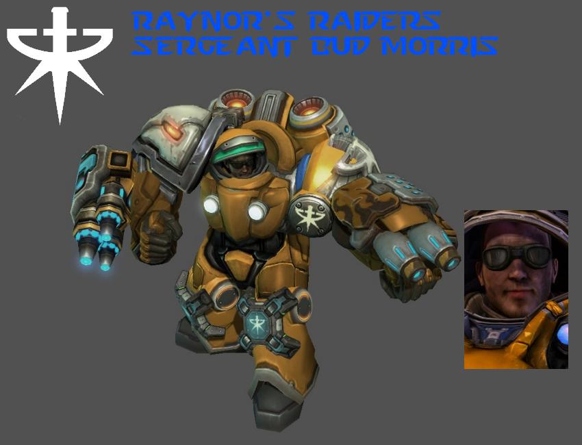 StarCraft 1 - Sergeant Bud Morris by HammerTheTank