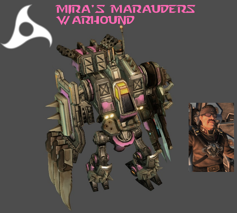 StarCraft 2 - Mira's Marauders Warhound by HammerTheTank