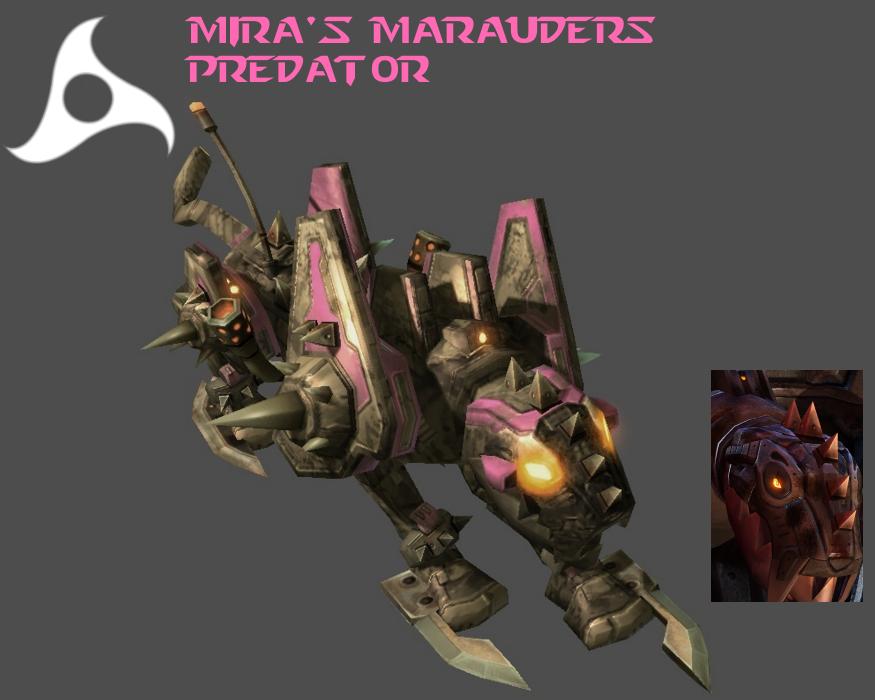 StarCraft 2 - Mira's Marauders Predator by HammerTheTank