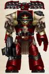 WH40K - Blood Ravens Cataphractii Terminator