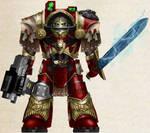 WH40K - Blood Ravens Cataphractii Terminator Sgt.