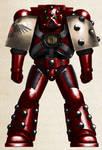WH40K -  Blood Ravens Mark V 'Heresy' Power Armour