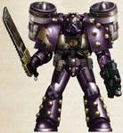 WH30K - Emperor's Children Assault Marine (Mk V)