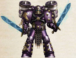 WH30K - Emperor's Children Assault Sergeant (Mk V)