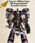 WH30K - Captain Cassiotheus Cemeon