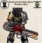 WH40K - Deathwatch Devastator Damothios Moris