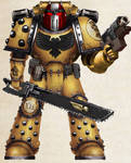 WH30K - Imperial Fists Tactical Vet Sgt. (Mk III)