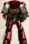 WH40K -  Blood Ravens 3rd Co. Tactical Marine (V2)