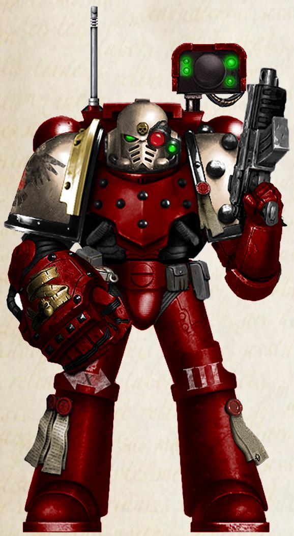 WH40K - Blood Ravens 3rd Co. Devastator Sgt. (V2)