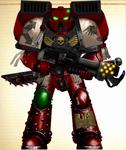 WH40K - Blood Ravens 4th Co. Assault Marine (V2)