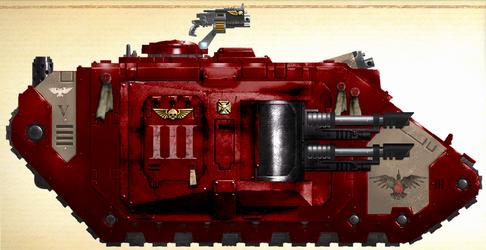 WH40K - Blood Ravens Mark IIb Land Raider Phobos