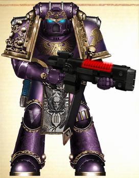 WH30K - Emperor's Children Tactical Sgt. (Mk III)