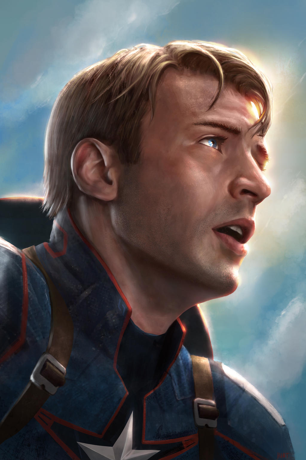 Captain America Steve Rogers By Weaponmasscreation On