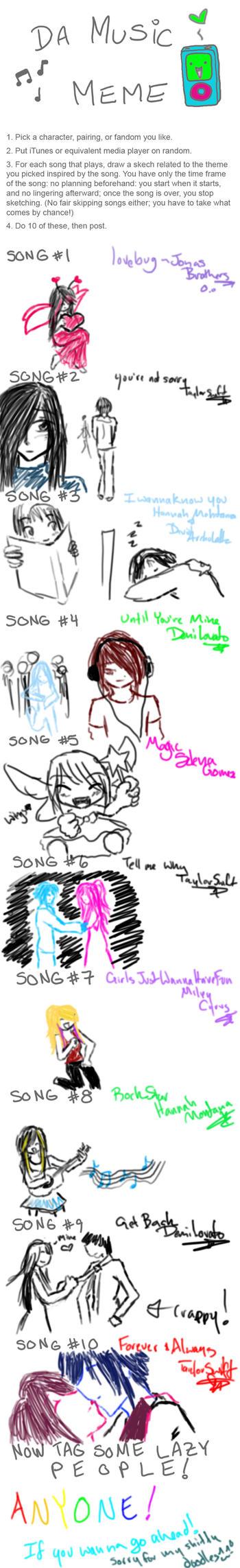 Music Meme by Chibi-Kibo