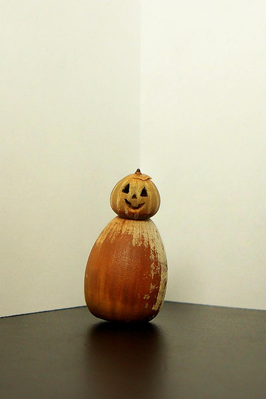 pumpkin man by DHuff-art