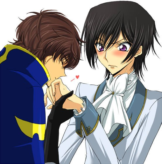 code geass lelouch and suzaku relationship questions