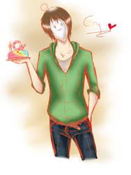 Cry's cake o3o by RushioruSama